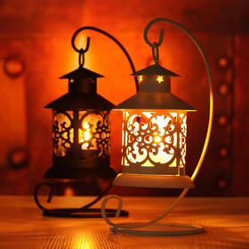 创意礼物------文艺复古镂空台灯(包邮)