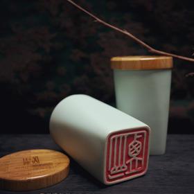 苏州博物馆监制好风光出品 文徵明陶瓷杯汝瓷杯 办公居家 中国风