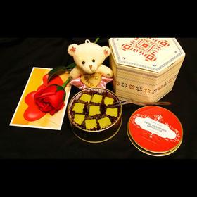 巧瑞丝进口松露手工抹茶情人节巧克力礼盒生日礼物 包邮顺丰