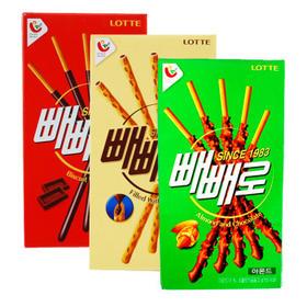 韩国进口休闲零食  乐天巧克力棒