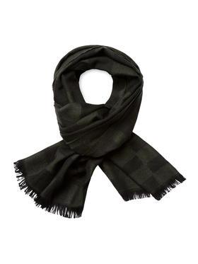 Ermenegildo Zegna 羊毛方块围巾