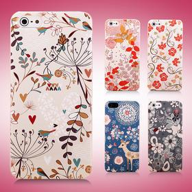 曼德美 iphone5S手机壳 苹果5手机套外壳 iphone5保护壳 日韩简约