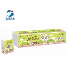 丝美乐 卡通呆呆兔系列 双层手帕纸10包/条 SK2210