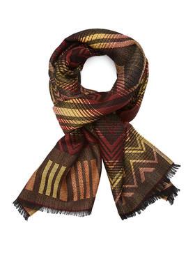 Missoni 羊毛混纺印花围巾