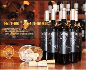 西班牙原装进口丹魄干红葡萄酒
