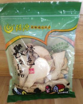 德化农产品 杏鲍菇 袋装150克 快易封口