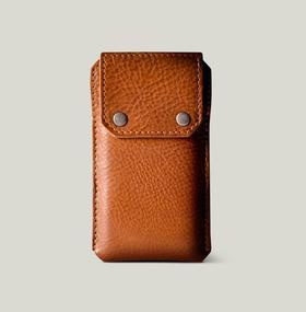 Hardgraft iPhone 6/Plus 手工牛皮手机保护套|褐色(英国)