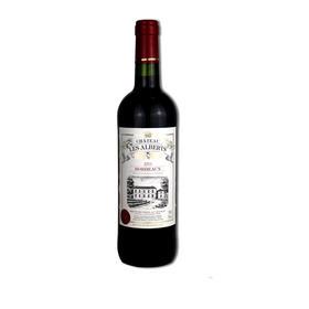 法国原装进口  艾伯茨古堡干红葡萄酒
