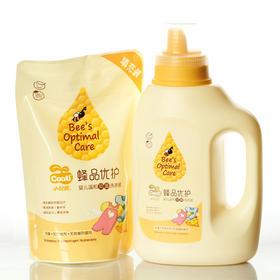 【品牌直营】小浣熊婴儿温和抑菌洗衣液500ML+1.2L 组合