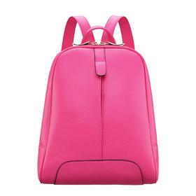 草莓地2015新款学院风纯色潮流双肩包女