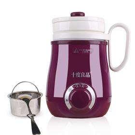 十度良品SD-917电热水杯分体电水杯迷你加热保温杯陶瓷电热养生杯