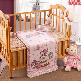 夏季包邮儿童宝宝婴儿床凉席童席冰丝席冰凉枕头包边60*120cm