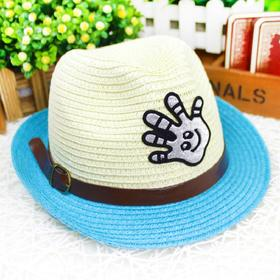 2015韩国流行帽 公主凉帽 太阳帽遮阳帽 女童大檐夏帽盆帽0170