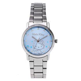Hello Kitty手表 可爱儿童表 石英手表 女士手表 儿童手表 搭配手表 钢带手表 HK608LWWI-R