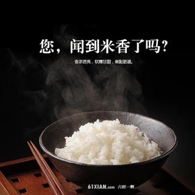 五常大米你吃了吗?5kg贡米级稻花香2号