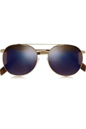 CUTLER AND GROSS 圆框金属太阳眼镜