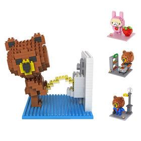 LOZ小粒积木 -布朗熊系列