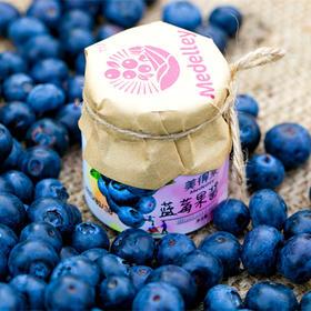 美得来 天然有机蓝莓果酱40g*1瓶  原果风味 清香浓郁 餐饮伴侣 包邮