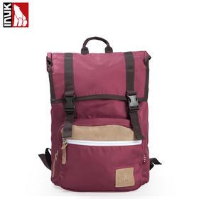 【爱心箱送】INUK男女电脑双肩背包休闲包 学院风旅行包新款 潮