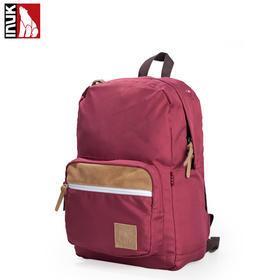 【爱心箱送】INUK14寸男女休闲双肩包电脑包书包复古学院风户外旅行