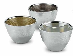 威尼斯手工玻璃镀银多功能器皿