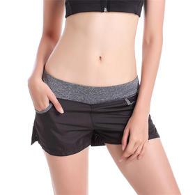 P8603 女款速干透气运动裤 带内衬