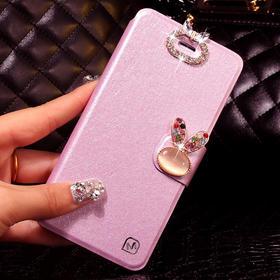 三星S5手机壳 SM-G9009D手机套G9006V保护套G9008W水钻翻盖薄皮套