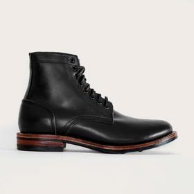 Oak Street全手工牛皮经典高帮皮靴 | 黑色(美国)