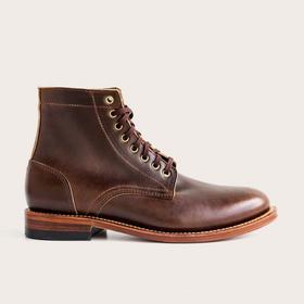 Oak Street全手工牛皮经典高帮皮靴 | 咖啡色(美国)