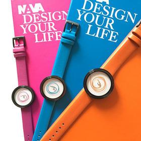 NAVA 纠缠的线创意腕表彩色限量版|36mm(意大利)
