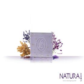 澳大利亚原装进口 Natura自然晨夕 手工雕琢 紫色薰衣草干花香皂