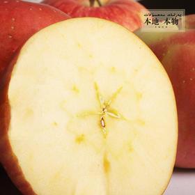 【本地本物】 霜降后的新疆阿克苏冰糖心苹果  不套袋 约5斤/箱