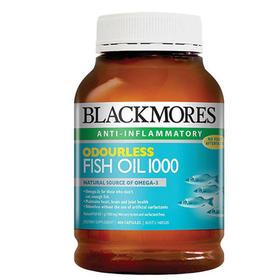 澳洲 Blackmores澳佳宝 超浓缩补脑无味/原味深海鱼油 400粒/瓶