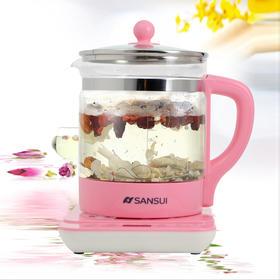 Sansui/山水KT-802玻璃养生壶多功能花茶壶煮茶壶智能养生壶