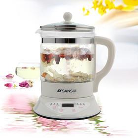 山水KT-801加厚玻璃养生壶保健煎药壶全自动中药壶花茶壶正品