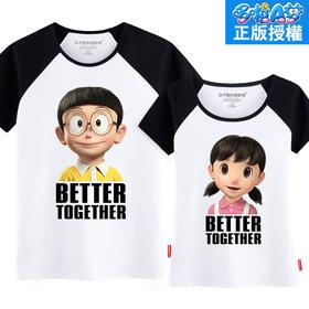 【七夕礼物】第七公社 大熊静香3D印花半袖衫2015新款韩版哆啦A梦短袖T恤