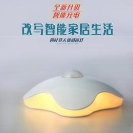 【为思礼  Datouren】四叶草 人体光线双感应小夜灯 USB充电升级版 创意时尚潮流家居