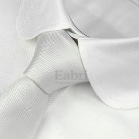 仕族Eabr商务衬衫纯白衬衣男修身长袖宴会礼服纯棉 尊轩意式米兰袖