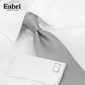 Eabri男士夏季平纹法式衬衫