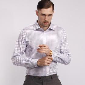 男士格纹 条纹商务长袖衬衫
