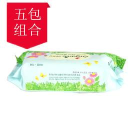 韩国有机故事Organic story 树林香婴儿湿巾 儿童湿纸巾(70抽/包)(无纺布材质)【保税分销】