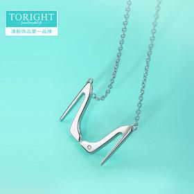 TORIGHT  【闺蜜】925银清新纪念版项链
