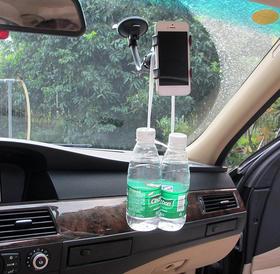 多功能车载手机支架仪表台汽车通用手机导航支架吸盘式车用手机座