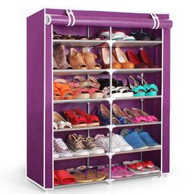 【左右家居】 双排6层12格简易鞋柜  1677 包邮