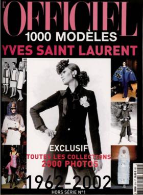 L'officiel时尚大师伊夫圣洛朗Yves Saint Laurent50年作品回顾