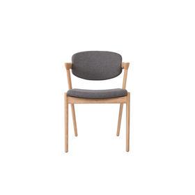 艾迪玛仕 | 餐椅CH9267R北欧实木+布艺(运费咨询客服)