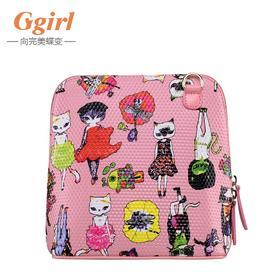 Ggirl2015新款时尚女包潮流小狐仙3D格纹单肩/斜挎包女包夏季清仓特卖