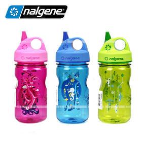 美国原产Nalgene 耐洁  OTF Kids 美国儿童吸嘴水壶350ml