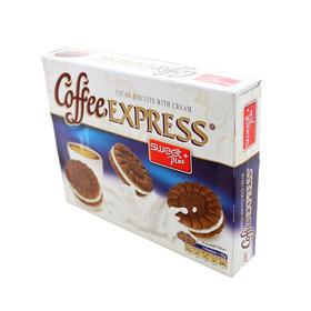 保加利亚进口 甜家系列 咖啡快车可可奶油饼干