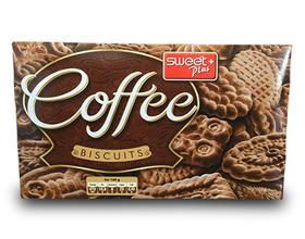 保加利亚进口 甜家系列 茶味 咖啡味饼干   每箱12包  3箱起批发价